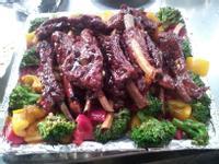 紅酒蜜汁豬肋排─家庭宴客菜