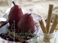[肥丁食譜] 法式紅酒煮洋梨