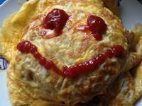 [年菜-菜尾]微笑蛋皮什錦炒飯-亨氏100%純天然蕃茄醬