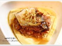 鹹魚絞肉蒸豆腐