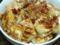 麻油蒜香豆腐