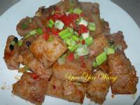 蔭鼓燒紅麴蓮藕蘿蔔糕