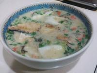 豆漿土魠魚燕麥粥*有飽足感的健康減肥餐*