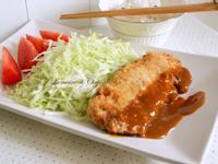 [日式] 炸豬排(含特調豬排醬)