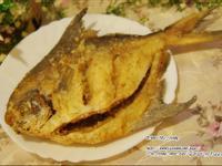 香酥白鯧魚