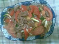 番茄炒牛肉