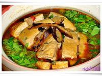 紅燒臭豆腐 (五辛素)