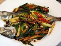 紅燒新一夜干竹莢魚