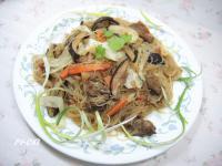 香菇高麗菜米粉
