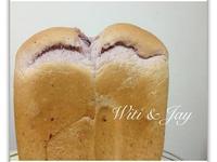 [Witi✿Kitchen](麵包機-吐司)中種紫薯吐司