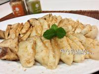 小烤箱料理-奶油山葵蒜粒烤杏鮑菇