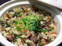 簡易臘肉蔬菜炊飯