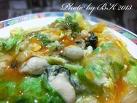 【得意的一天橄欖油】傳統小吃~蚵仔(蝦仁)煎
