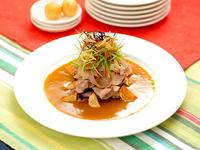 蒜香咖哩肉片[咖哩鍋]
