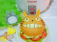 [大同小電鍋]電鍋水煮蛋‧龍貓漢堡