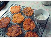 [Yun。在廚房]南瓜番薯脆煎餅