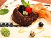 夢幻濃醇巧克力岩漿蛋糕 Chocolate lava cake