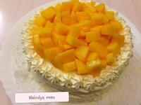 夏日芒果鮮奶油蛋糕