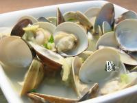 清蒸蛤蜊絲瓜