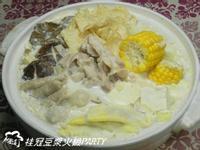 ㄚ曼達的廚房~桂冠豆漿火鍋party