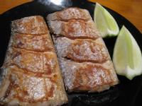 【粉豬兒】乾煎白帶魚