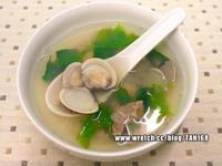 芹菜葉蛤蜊湯 ♪♪快手靚湯1♪♪