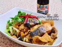 【李錦記125週年舊庄特級蠔油】蠔油鯖魚豆皮煮