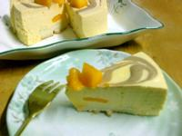 【烘培筆記】簡單易做。芒果慕斯蛋糕
