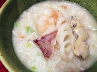 【副食品】絲瓜海味粥
