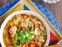《奧斯卡的72道獨樂料理》雜煮酸辣雞湯麵