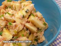 《綠竹筍6》鹽蔥鮪魚涼筍沙拉
