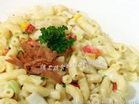 ♥憶柔蔬食♥蘑菇奶油白醬義大利麵~可素食