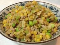 [玉米罐頭料理]玉米炒絞肉