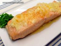 ♥ ♥蒜泥奶油燒鮭魚♥ ♥ <紙包魚6>