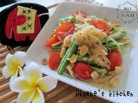 ✽✿泰式涼拌青木瓜絲✿✽