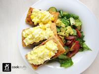 【煮事】蛋黃醬多士沙律