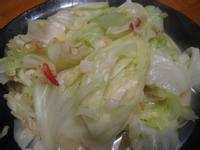 【粉豬兒】炒高麗菜