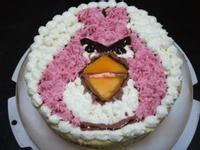 憤怒鳥(蛋奶芒果慕斯蛋糕)