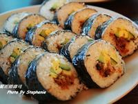 肉鬆花捲壽司&起士鮪魚玉米花捲