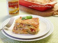 CLASSICO香濃白醬~焗烤雞肉鮮蔬千層麵