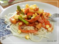 Classico義大利麵醬..(磨菇橄欖)..蘆筍菇菇麵 (香濃白醬)