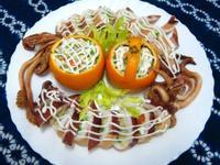 「桂冠夏至涼拌」中卷鑲豆腐泥沙拉