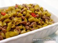 ♣炒酸豇豆♣ 肉末下飯菜~1