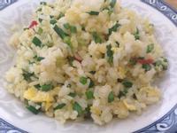 黃金韭菜辣炒飯