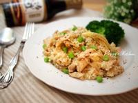 《Peggy廚房》黑胡椒奶油雞柳燉飯