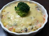 [小寶的飯飯]焗烤起司鮭魚通心粉