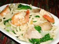 海鮮炒拉麵 (2人份)
