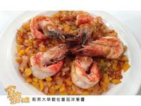 【食在好料理】乾煎大草蝦佐番茄洋蔥醬