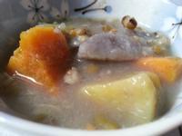 三色地瓜綠豆甜湯