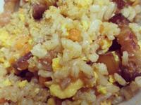 糙米叉燒炒飯